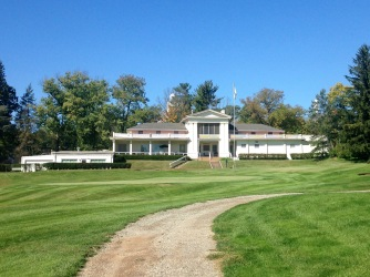 Country Club from the golf course