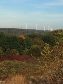 Windmills above Centralia